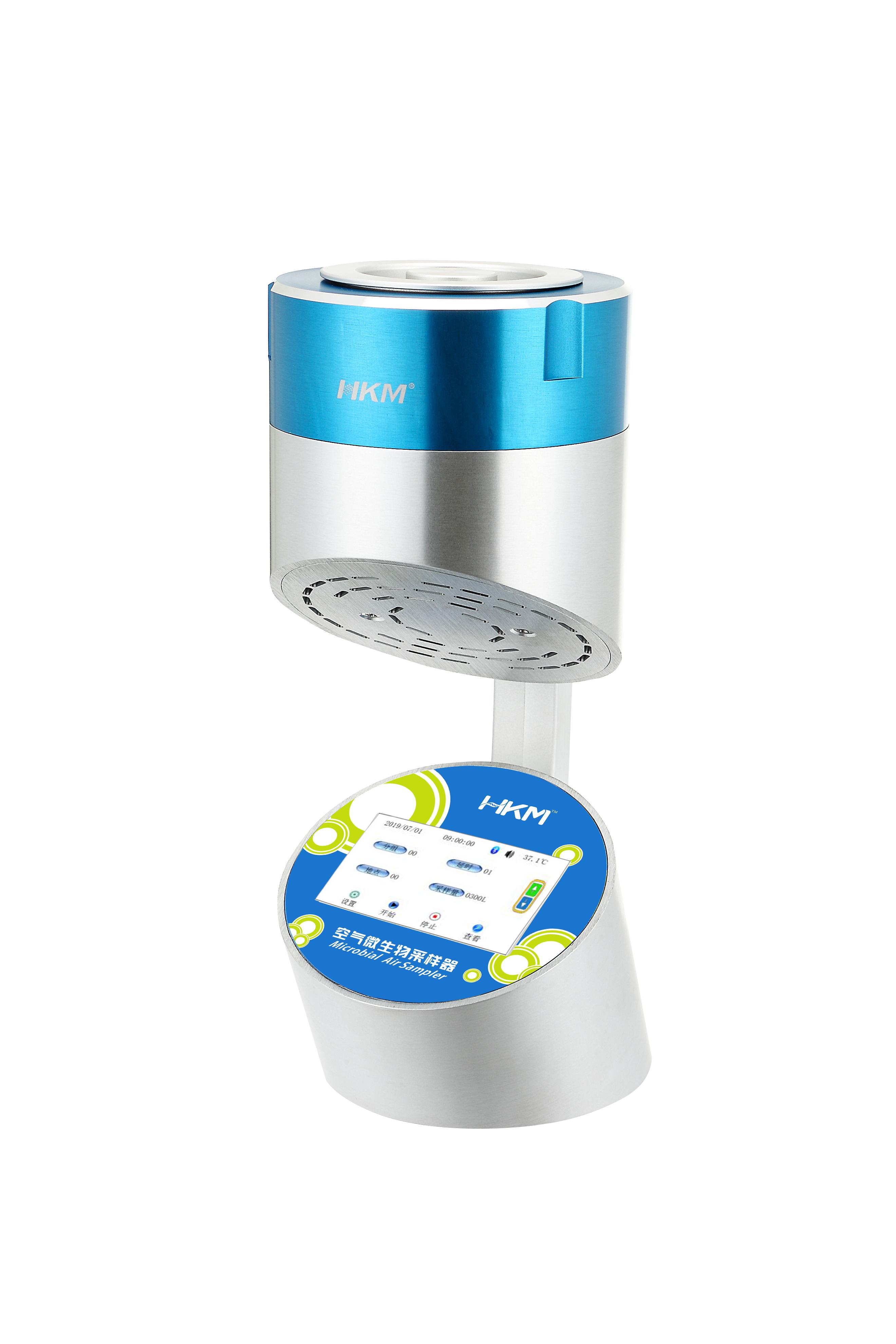 空气浮游微生物采样器(空气微生物采样器)HKM-ⅢB-100 触摸屏 蓝牙 PC 流量补偿 版