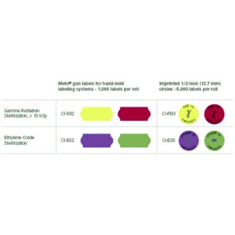 环氧乙烷灭菌指示条 灭菌指示标签