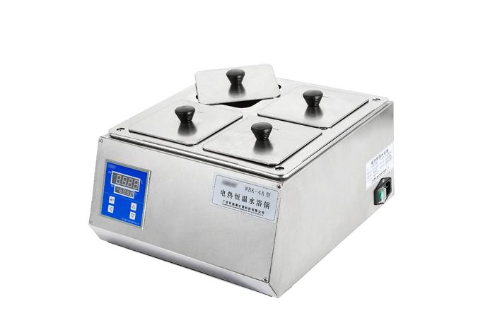全不锈钢电热恒温水浴锅 双列四孔 WBK-4B(圆形孔盖)