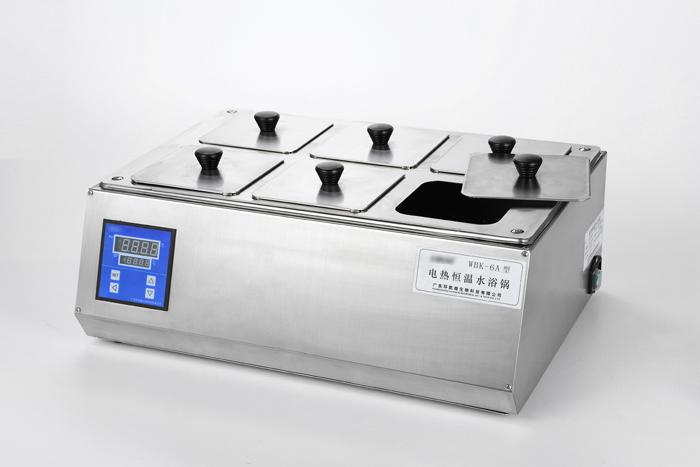 全不锈钢电热恒温水浴锅 双列六孔 WBK-6B(圆形孔盖)