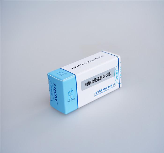 硫酸盐检测试纸(0-1600mg/L)